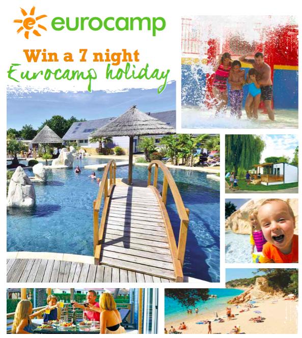7 Night Eurocamp Holiday
