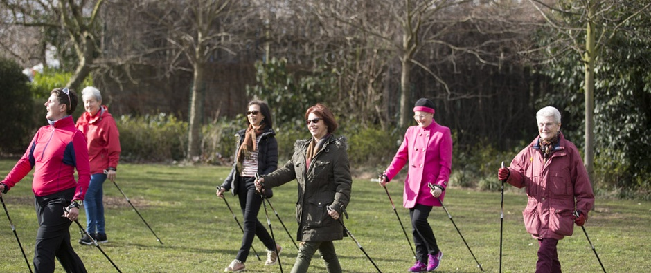 Nordic walking-Maggie's Centres