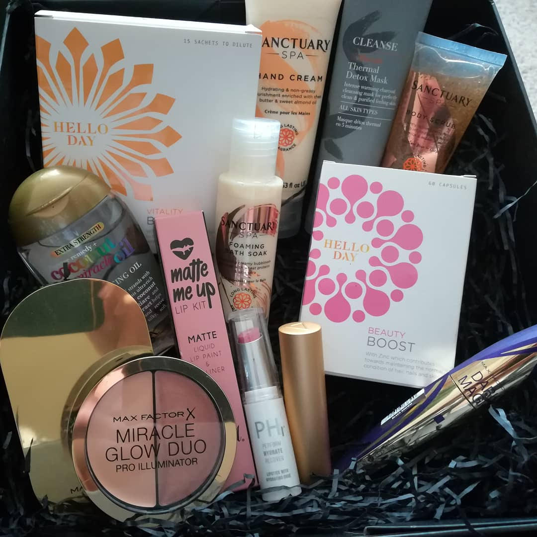 Box of beauty products!