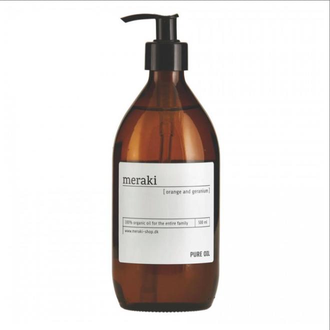Orange and Geranium Argan Beauty Oil