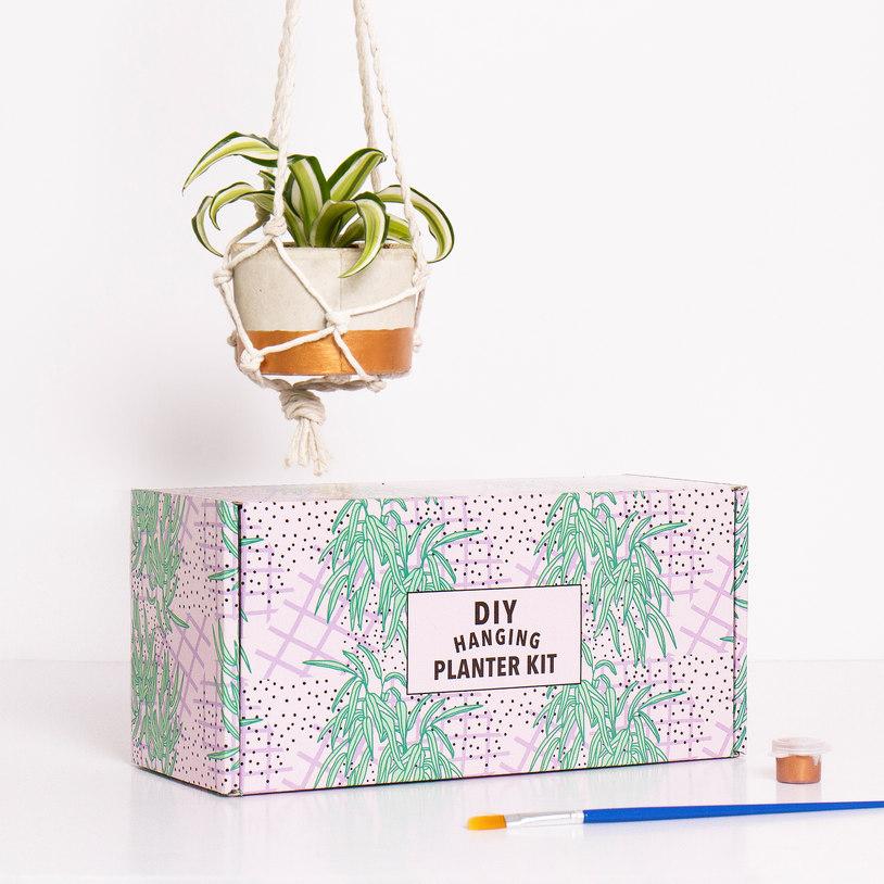 Hanging planter kit