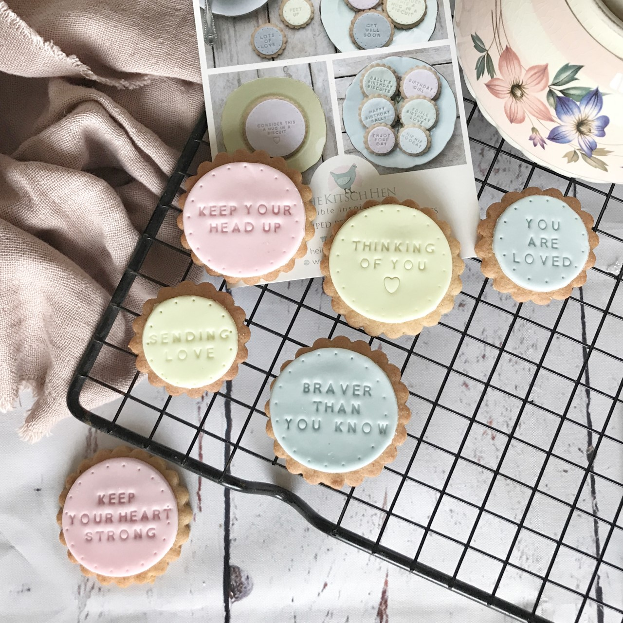 Personalised biscuits